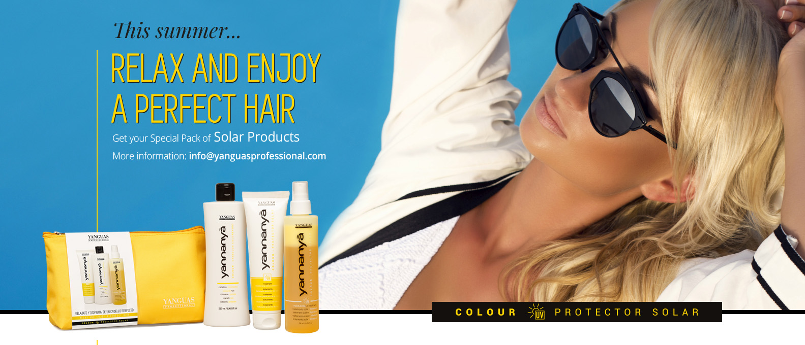 Color Solar Protect Products For Hair - Yanguas Professional