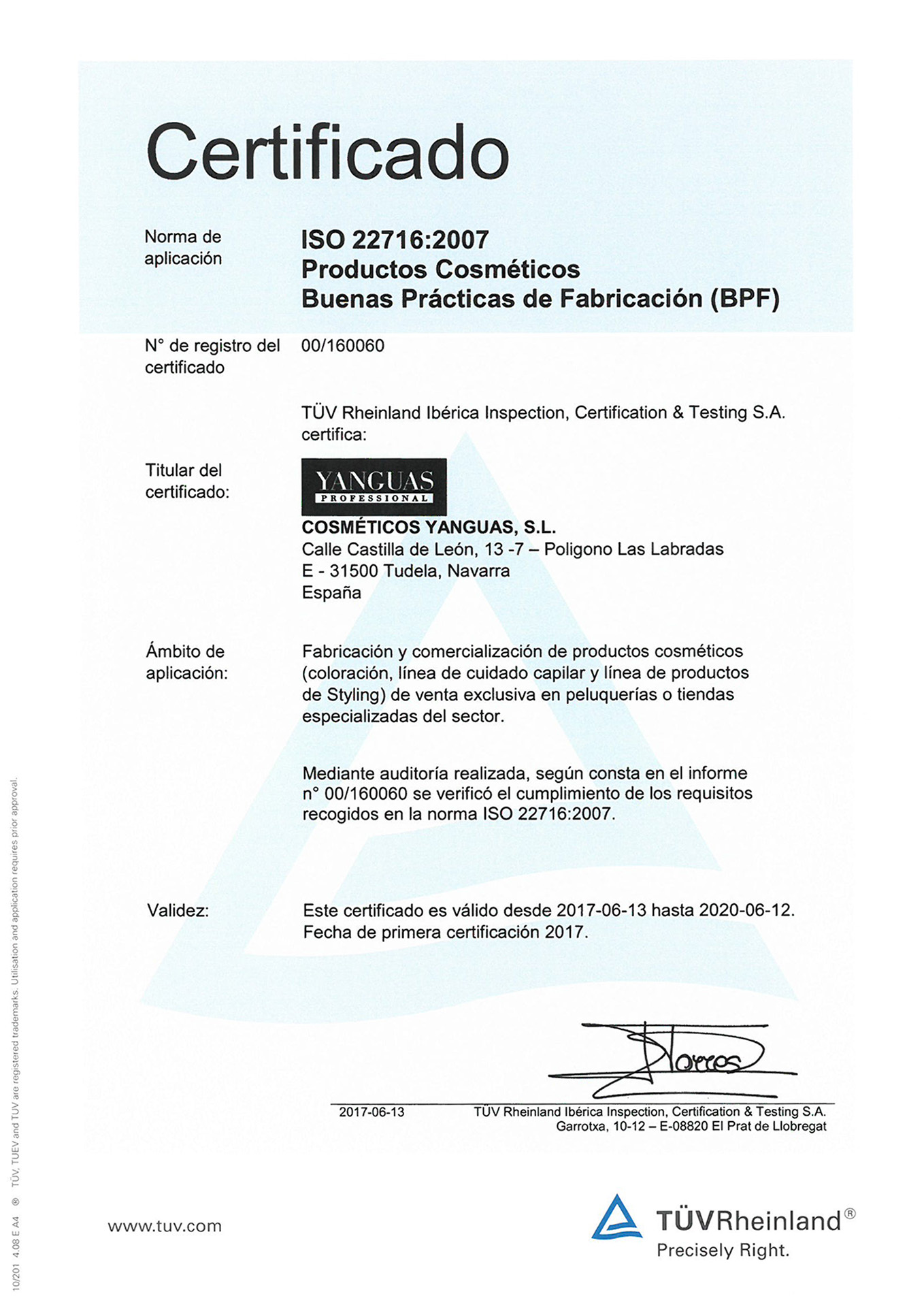 ISO 22716 : 2007