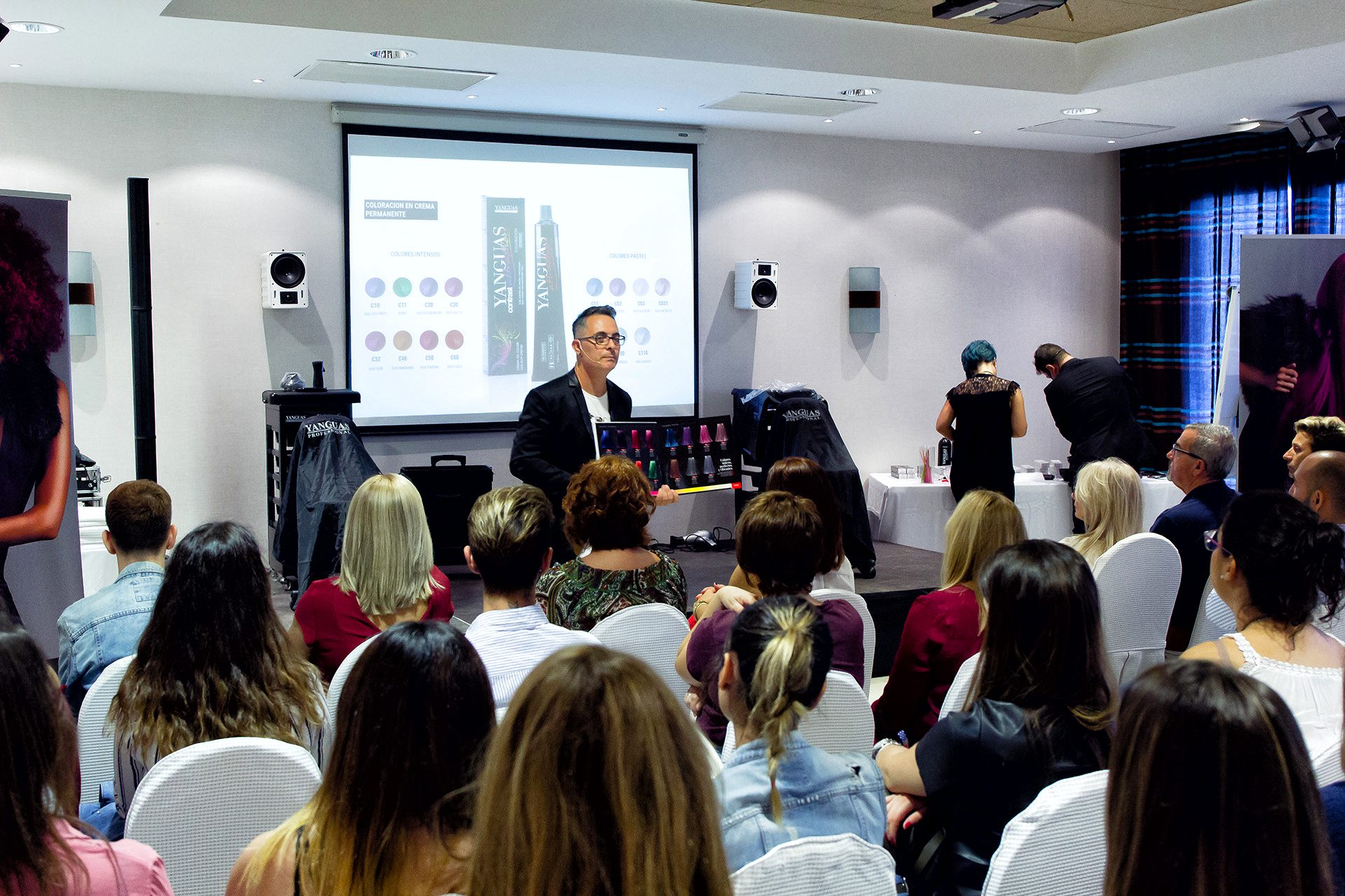 Formacion Yanguas Professional - Sotogrande (Cadiz) Organizada Por Beauty Hair Distribución.