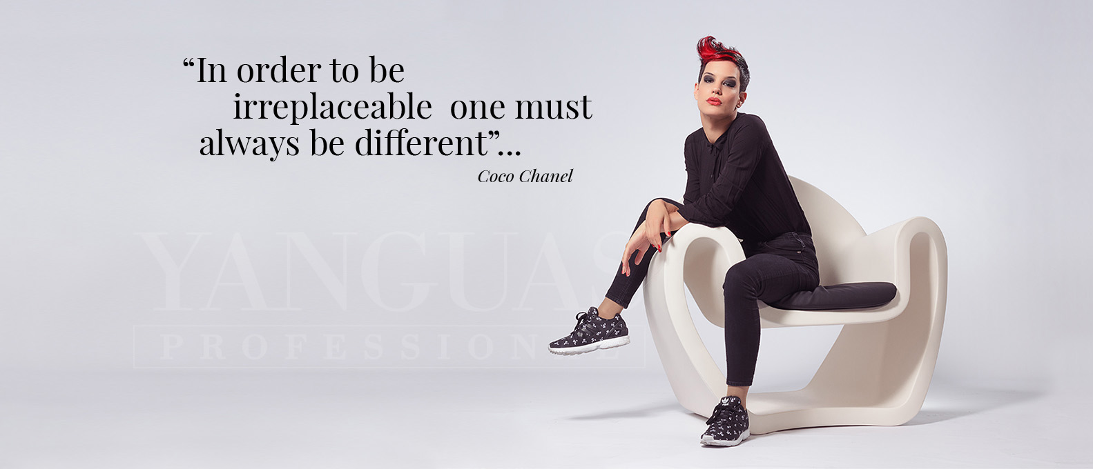 In Order Be Irreaplaceableone Just Be Be Different . Coco Chanel