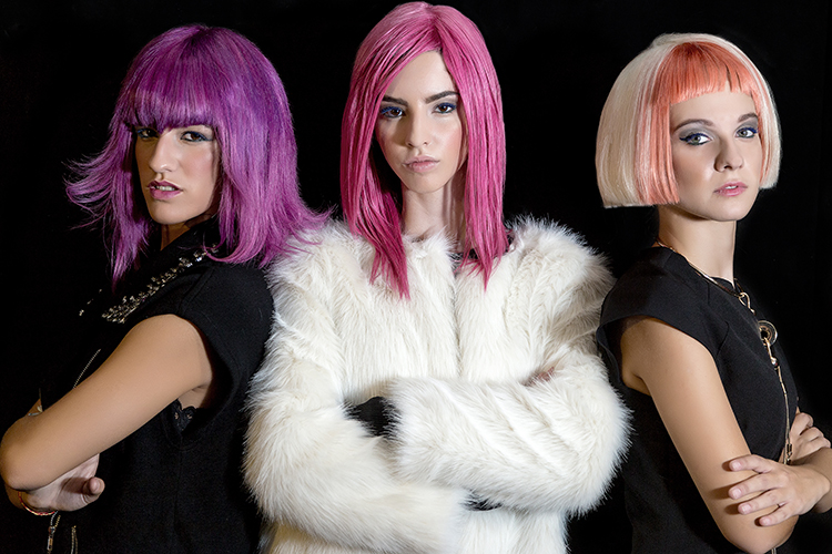 Go Colours! para Gala Solidaria Hairstaff 2015