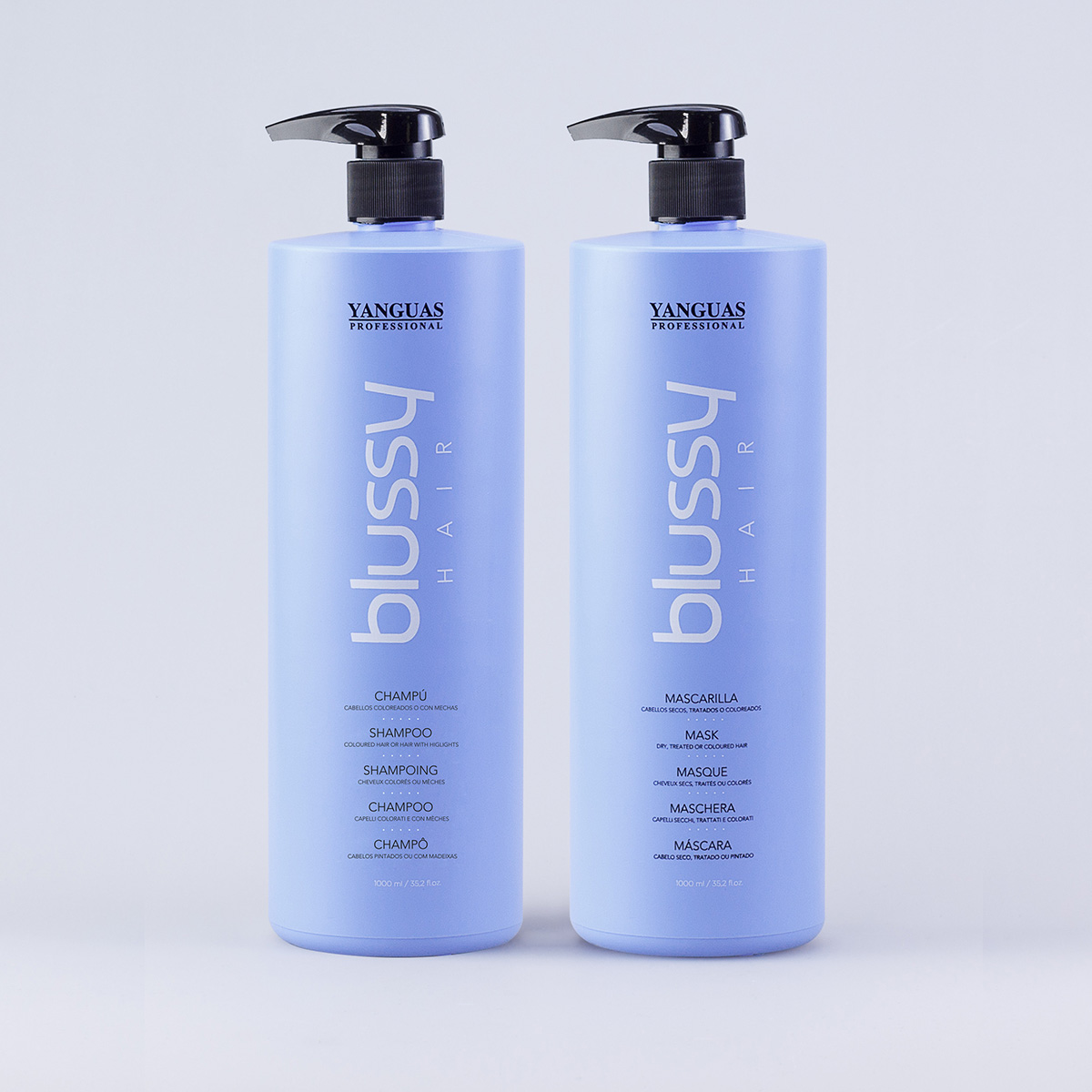 Tratamiento Nutritivo Del Color Blussy Hair - Yanguas Professional