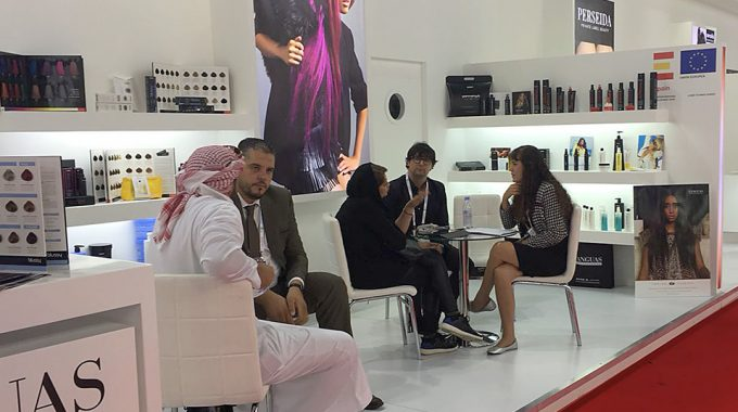 Yanguas Professional Presente En La BeautyWorld ME 2018, Dubai